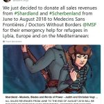Donation to Médecins Sans Frontières (Doctors Without Borders)